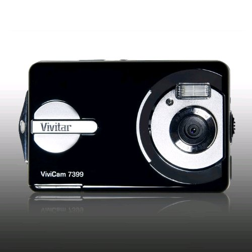 Vivitar 7399 7.0 Megapixel Underwater Digital Camera  Black(7MP, 4x Zoom, 15 Metre Waterproof, 2.4 Screen) **Free Waterproof Case** Picture