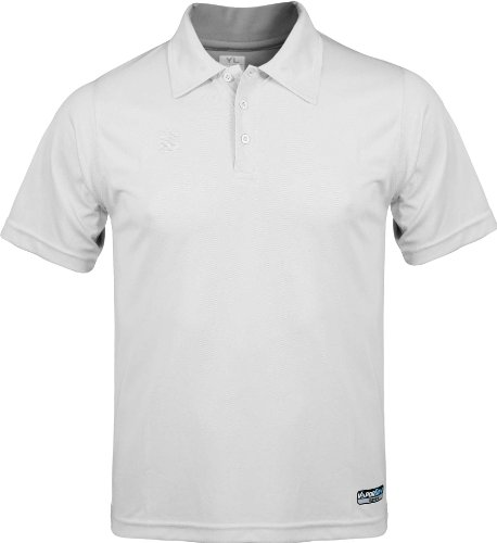 Admiral classic soccer coach sideline polo shirt white for Soccer coach polo shirt
