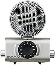 Zoom MSH-6 - Micrófono (Videocámara digital, Alámbrico, Plata)