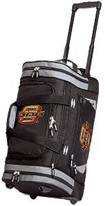 OSU Oklahoma State Rolling Duffel Bag Official College Logo OSU Cowboys Duffle Travel / Gym / Sports Overnight Luggage Bags