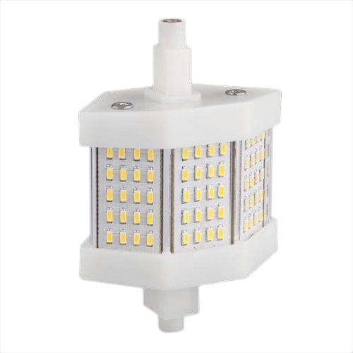 Toogoo(R) R7S 78Mm 60 Smd Led Warm White Halogen Flood Light Lamp Replacement 6W