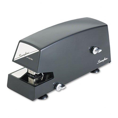 Swingline : Model 67 Electric Stapler, 20 Sheet Capacity, Black -:- Sold As 2 Packs Of - 1 - / - Total Of 2 Each