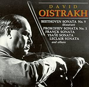 Oistrakh in Recital