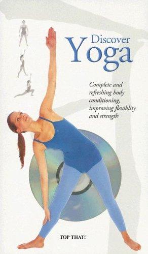 Discover Yoga/Pilates 2 Set Books & DVD, Mann,Michael