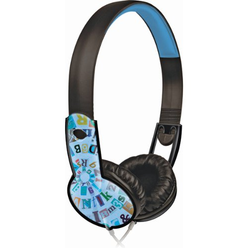 Brand New Maxell Safe Soundz Headphone For Age 6 9 Boy, Blue