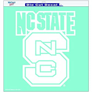 Buy NCAA North Carolina State Wolfpack 18-by-18 inch Diecut Decal by WinCraft