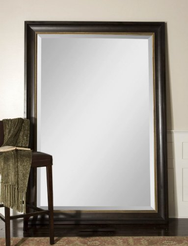Save on extra large wall mirror oversize dark wood xl for Large wall mirrors cheap