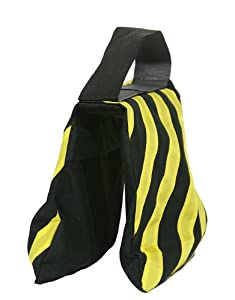 Sandbag Sandbags Black Yellow Sandbag Photography Sandbag Studio Video Equipment Sandbag Sand Bag Saddle Bag for Boom Stand Tripod By Fancierstudio Black Yellow Sandbag