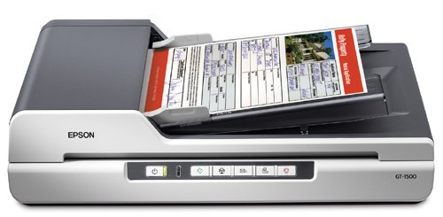 Epson WorkForce GT-1500 Document Image Sheet-Fed Scanner with Automatic Document Feeder (ADF) – Refurbished