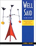 Well Said: Pronunciation for Clear Communication  (Text/Audio Tape Package) (083840197X) by Grant, Linda