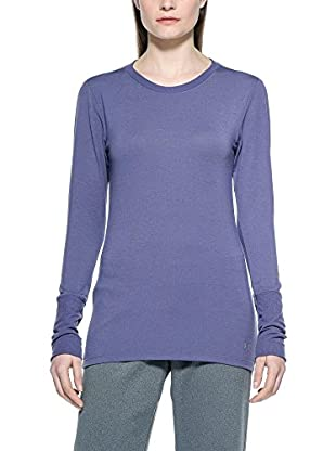 Under Armour Camiseta Manga Larga Técnica Cg Infrared Crew Woman (Morado)