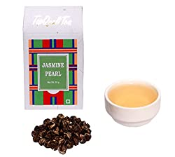 TopQualiTea Jasmine Pearl Green Tea - 50 gm