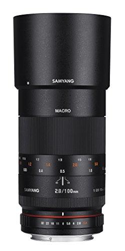 Rokinon 100mm F2.8 ED UMC Full Frame Telephoto Macro Lens fo