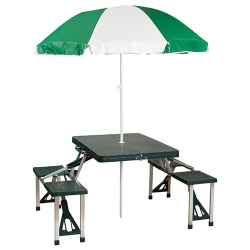 Review Of Stansport Picnic Table and Umbrella Combo Pack