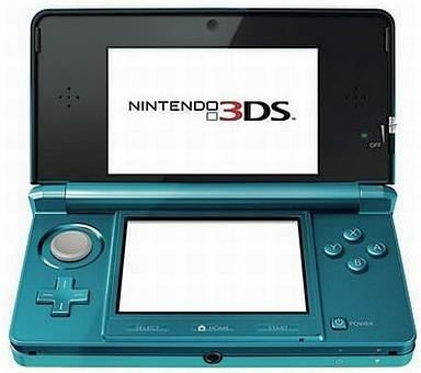 New Nintendo 3DS Aqua Blue Console System