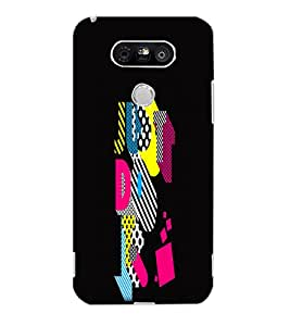 LG G5 JUST DO IT Back Cover by PRINTSWAG