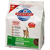 41FXFzp1o6L. SL160  Hills Science Diet Kitten Healthy Development Original Dry Cat Food   7 Pound Bag