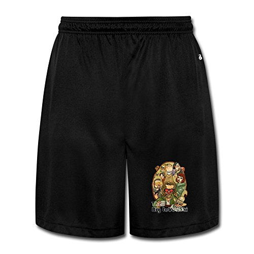 Big Lebowski Fashion Gentleman Short Pants Black Pants
