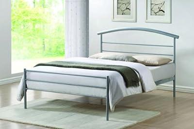 Brennington Single (3FT) Silver Metal Bed Frame