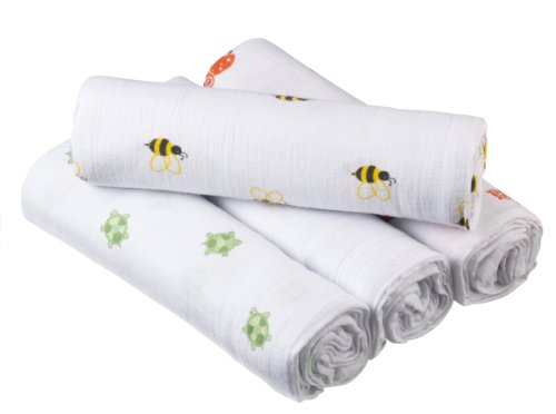 Lowest Prices! aden by aden + anais Swaddleplus, Life's A Hoot, 4-Pack