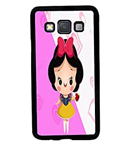 Printvisa 2D Printed Girly Designer back case cover for Samsung Galaxy A3 A300F- D4577