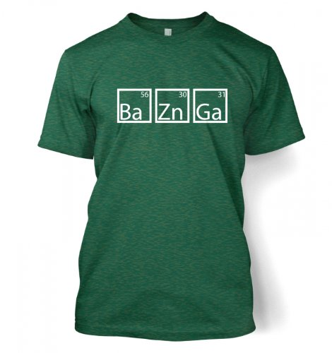 Something Geeky PP BaZnGa Men s T Shirt Medium Antique Jade Dome