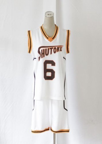 Hidenori High School Basketball Uniform Gr?n zwischen Shintaro Nummer sechs gleichm??ige Ober-und Untermenge M Gr??e Costuming Cosplay Kost?m Kuroko (Japan-Import) by LUGANO