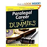 img - for PARALEGAL CAREER FOR DUMMIES (PAPERBACK) book / textbook / text book