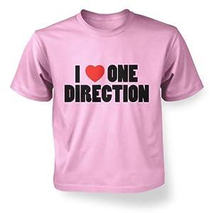 I Heart Tshirts - I Heart One Direction Kidz T Shirt.