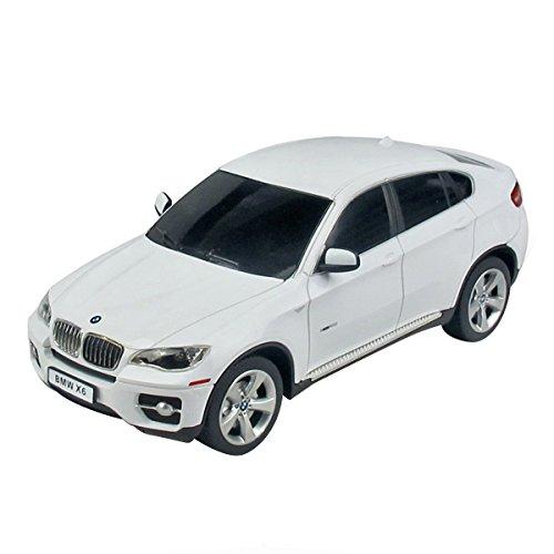 Yesurprise Rastar New Best Christmas Birthday Gift R/C 1:24 Remote-Control Car Bmw X6 31700 White Car Model