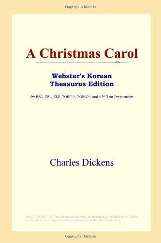A Christmas Carol (Webster's Korean Thesaurus Edition)
