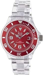 Ice-Watch Damen - Armbanduhr Ice Pure Analog Quarz Kunststoff PU.RD.S.P.12