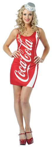 Rasta Imposta Coca-Cola Tank Dress,