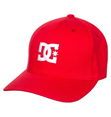 DC Cap Star 2 Red White New One Size Mens Snapback Cap Hat