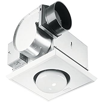 9417dn nutone 70 cfm heat a vent bathroom fan with one for 4 bathroom fan duct