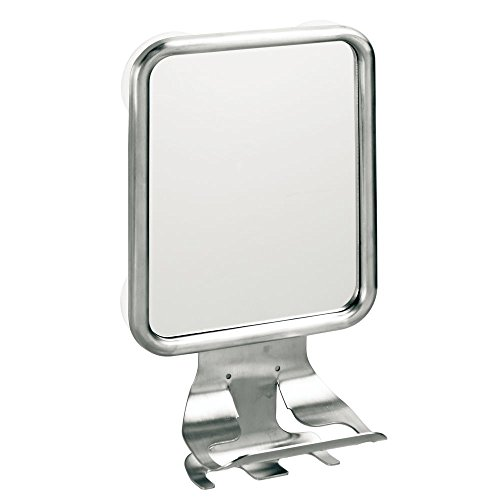 InterDesign Forma Suction Fog Free Mirror Center