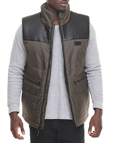 sean-john-mens-sj1526-oxford-puffer-vest-with-faux-leather-yoke-olive-3xl