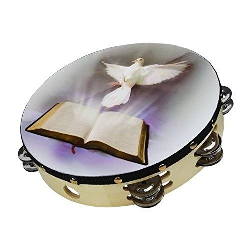 tambourine-10-dove-bible-double-row-jingle-percussion-instrument-for-church-by-zebra-sounds