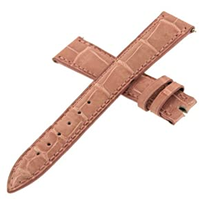 Franck Muller Geneve Leather Pink 24J 16-14 mm Watch Band