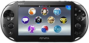 PlayStation Vita Wi-Fiモデル ブラック (PCH-2000ZA11)