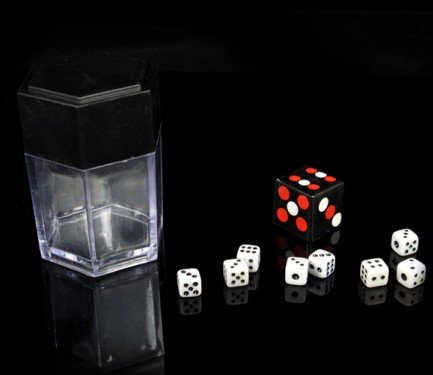 Dadi Atomici - Grandi - Dice Bomb - Large - Close-Up Magic - Giochi di Prestigio Magia