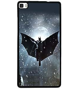 ColourCraft Superhero Design Back Case Cover for HUAWEI P8