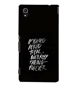 Fuson Premium Printed Hard Plastic Back Case Cover for Sony Xperia M4 Aqua