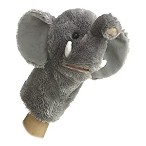Aurora World Plush Elephant Puppet