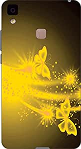 ECO HIGH QUALITY SILICONE UV PRINTED BACK COVER FOR Vivo V3 Max ARTICLE-32522