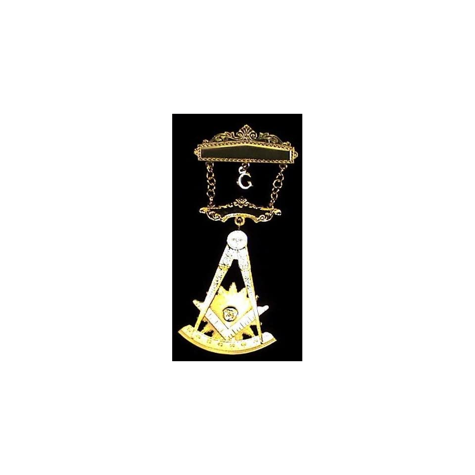 AF&AM Past Masters Masonic Freemason Deluxe Small Jewel