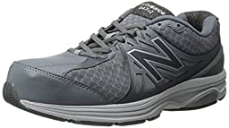 New Balance Men\'s MW847V2 Walking Shoe, Grey/White, 10.5 2E US