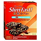 41FXme%2BlwqL. SL160  Slim Fast 200 Calorie Meal Bars, Sweet & Salty Chocolate Almond 5 ea