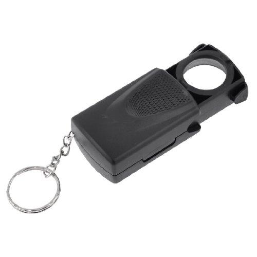 Led White Light 21Mm Diametr 45X Pull Type Magnifier Key Chain