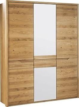 """Schrank """"Delphi"""" Wildeiche natur 49 - Abmessungen: 156 x 209 x 63 cm (B x H x T)"""